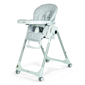 *Peg Perego Prima Pappa Zero 3 High Chair - Linear Grey