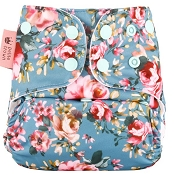 Petite Crown Packa One Size Pocket Diaper