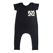 With Love by Ash Pocket Romper
