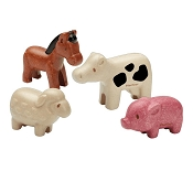 *Plan Toys Farm Animals set