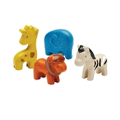 *Plan Toys Wild Animals Set