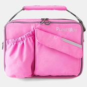 *PlanetBox Carry Bag - Perfectly Pink