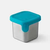 *PlanetBox Launch and Shuttle 2.4oz Little Square Dipper - Teal