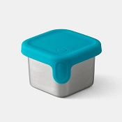 *PlanetBox Rover 1.75oz Little Square Dipper - Teal
