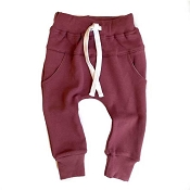 Little Bipsy Joggers - Plum