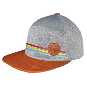 L&P Snapback Hat -  6 Panel - Portland - Brown