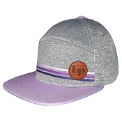 L&P Snapback Hat -  6 Panel - Portland - Purple