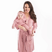 *Posh Peanut Dusty Rose Mommy Robe
