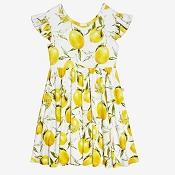 Posh Peanut Lemon Twirl Dress