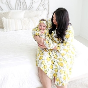 *Posh Peanut Lemon Mommy Robe