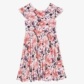Posh Peanut Vivi Floral Twirl Dress