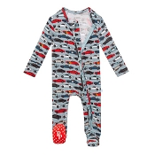 Posh Peanut Zippered Footie - Miles *Pre-Order*