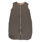 Kickee Pants Quilted Sleeping Bag - Falcon with Suede Giraffe