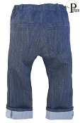 Project Pomona Eco Fit Grow With Me Jeans in Colour - Navy