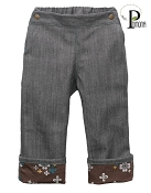 Project Pomona Eco Fit Little Hipster Fit Jeans with Autumn Blossoms Accent Cuff