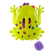 *Boon Frog Pod - Toy Scoop Drain and Storage