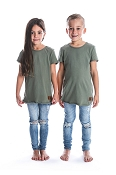 Beau Hudson Raw Edge Military Tall Tee *CLEARANCE*