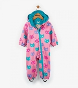 Hatley Rain Bundler - Silly Kitties