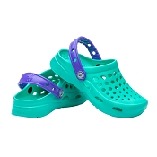 Joybees Kids Active Clog - Teal/Violet