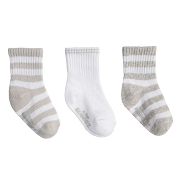 Robeez Daily Devin Socks - 3-Pack