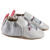 Robeez Grey Helicopter Soft Soles