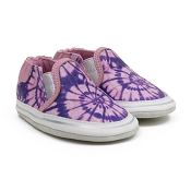 Robeez Leah Tie Dye Pink Soft Sole Shoes