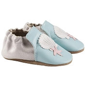 Robeez Blue Shell and Sand Soft Soles