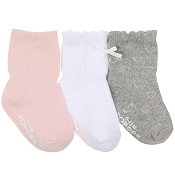Robeez Girly Girl Basic Socks - 3-Pack