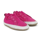 Robeez Stylish Staci Neon Pink Soft Shoes