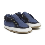 Robeez Stylish Steve Dark Blue Soft Soles