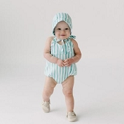 Little & Lively Romper - Cabana