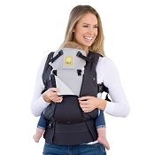 * LILLEbaby COMPLETE All Seasons Baby Carrier - Charcoal/Silver