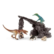 *Schleich Dino Set with Cave