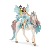 *Schleich Fairy Eyela with Princess Unicorn