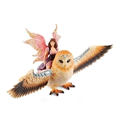 *Schleich Fairy in Flight on Glam-Owl