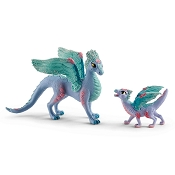*Schleich Blossom Dragon and Baby