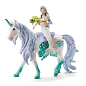 *Schleich Mermaid Riding on Sea Unicorn