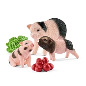 *Schleich Miniature Pig Mother and Piglets