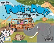 *Innovative Kids Poke-A-Dot Poppers Book - The Wheels on the Bus Safari