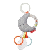 *Skip Hop Silver Lining Cloud Rattle Moon Stroller Baby Toy