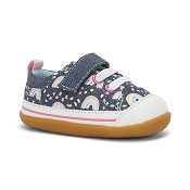 See Kai Run - Stevie II INF Chambray/Rainbows