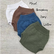 Sloomb Knit Wool Diaper Cover (2019 Collection)