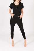 *Smash + Tess Anyday Romper - Midnight Black