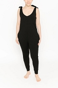 *Smash + Tess Knot Your Average Romper - Midnight Black