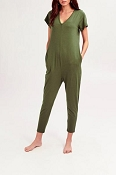 *Smash + Tess The Sunday Romper - Moss Green