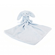 *JellyCat Bashful Blue Bunny Soother