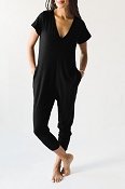 *Smash + Tess The Sunday Romper - Midnight Black