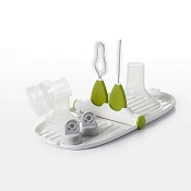 *OXO Tot Breast Pump Parts Drying Rack with Detail Brushes