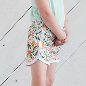 Little & Lively Dolphin Short - Picnic Floral