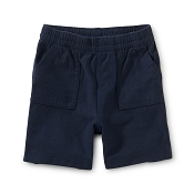 Tea Collection Playwear Baby Shorts - Whale Blue